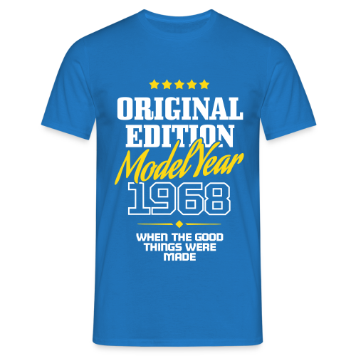 Original Edition - Model Year 1968 T-shirts - Männer T-Shirt