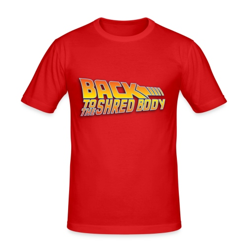 Back To The Shred Body H - T-shirt près du corps Homme