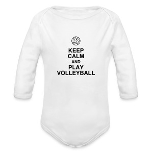 Volleyball - Volley Ball - Volley-Ball - Sport Body neonato - Body a manica lunga baby