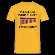 T-Shirts ~ Männer T-Shirt ~ Wind Chimes Shirt 2 (Herren)