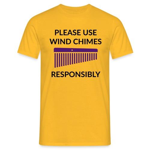 Wind Chimes Shirt 2 (Herren) - Männer T-Shirt