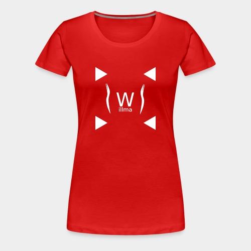 Willma3i4 NO. 1-1 - Frauen Premium T-Shirt