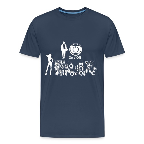 Man and Woman white - Männer Premium T-Shirt