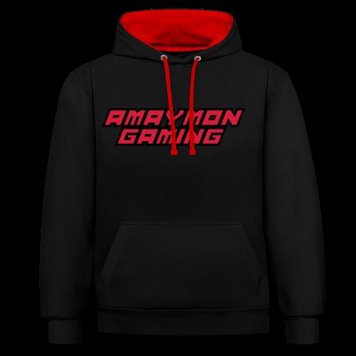 Amaymon Gaming Luvtröja - Kontrastluvtröja