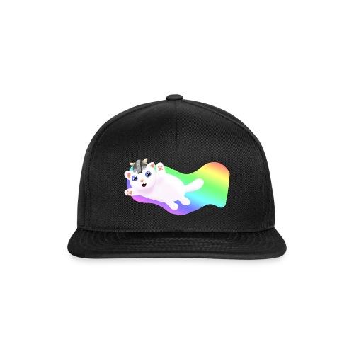 Kat snapback cap black - Snapback Cap