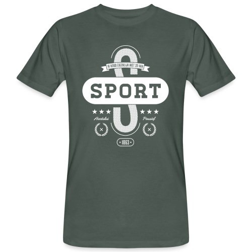 Sport mannen bio - Mannen Bio-T-shirt