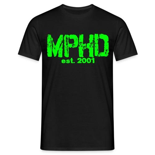 Männer Shirt green MPHD est - Männer T-Shirt