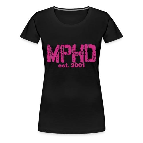 MPHD lila Frauen Premium MPHD est - Frauen Premium T-Shirt