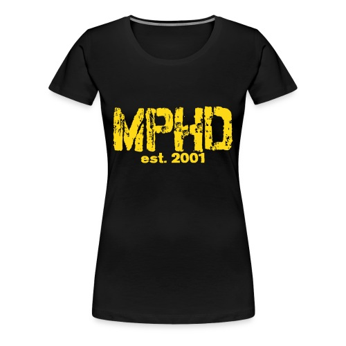 Frauen Premium gelb MPHD est - Frauen Premium T-Shirt