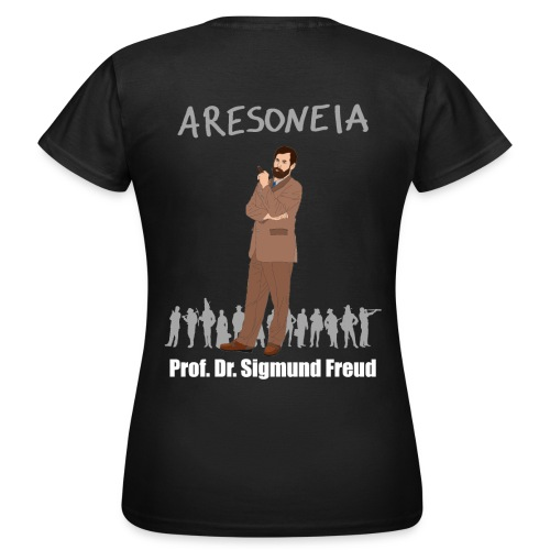 Aresoneia-Freud (Weiß) - Damen-Shirt - Frauen T-Shirt