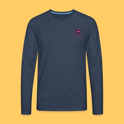 Männer Premium Langarmshirt einseitig bedruckt - Männer Premium Langarmshirt
