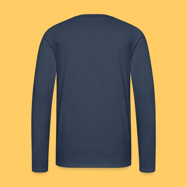 Männer Premium Langarmshirt einseitig bedruckt