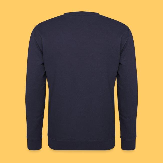 Männer Pullover einseitig bedruckt