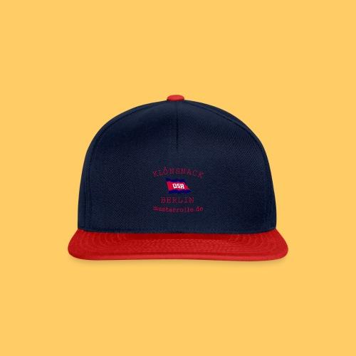 Klönsnack Cap - Snapback Cap