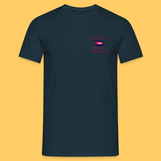 T-Shirt einseitig bedruckt