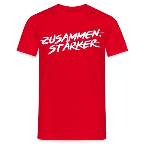 Zusammen.Stärker Basic Shirt - Männer T-Shirt