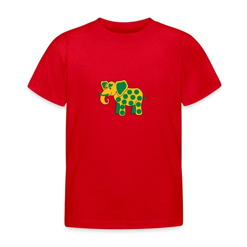 Elefantine.png - Kinder T-Shirt