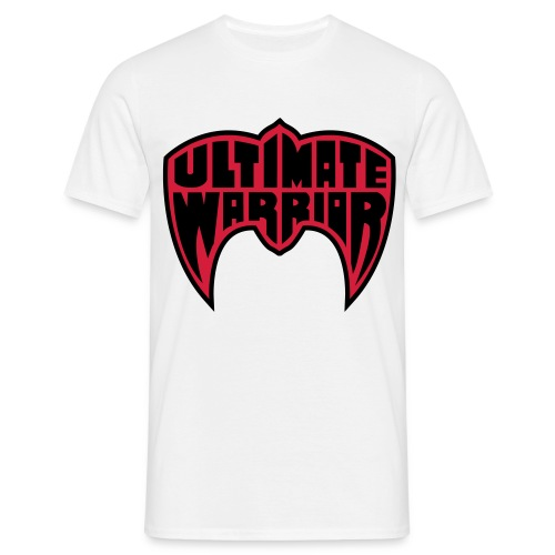 Ultimate Warrior Red & Black Shirt - Men's T-Shirt