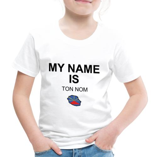 T-shirt Premium Enfant MY NAME IS  - T-shirt Premium Enfant