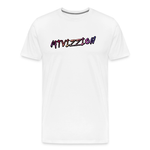 MT-VIZZION t-skjorte for menn - Premium T-skjorte for menn