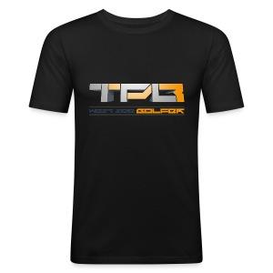 TPB03 - WEST SIDE GOLFER - Men's Slim Fit T-Shirt