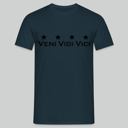 Veni Vidi Vici Stars Shirt Herren - Männer T-Shirt