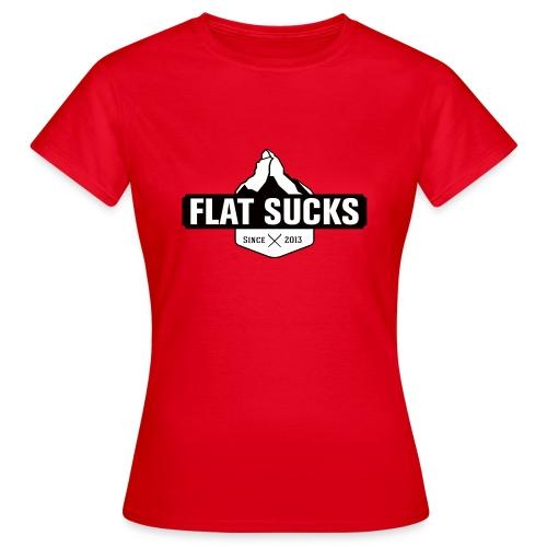T-shirt Flat Sucks Femme - T-shirt Femme