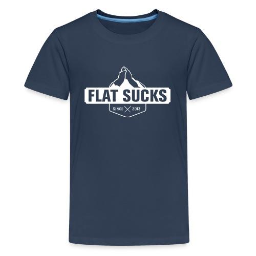 T-shirt Flat Sucks Enfant - T-shirt Premium Ado