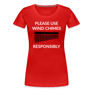 T-Shirts ~ Frauen Premium T-Shirt ~ Wind Chimes Shirt (Damen)