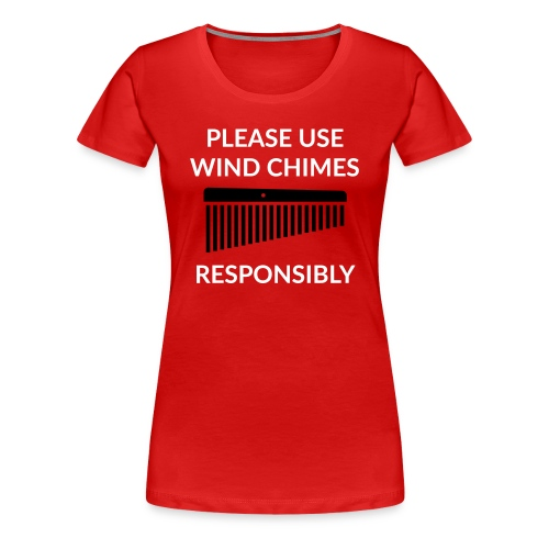 Wind Chimes Shirt (Damen) - Frauen Premium T-Shirt