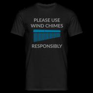 T-Shirts ~ Männer T-Shirt ~ Wind Chimes Shirt (Herren)