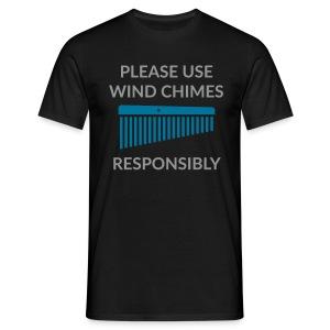 Wind Chimes Shirt (Herren) - Männer T-Shirt