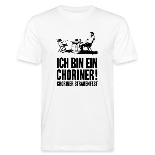 T-Shirt Bio, Schnitt männlich: Ich bin ein Choriner! - Männer Bio-T-Shirt