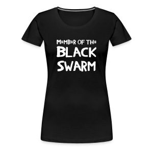 Black Swarm Girlie - Frauen Premium T-Shirt