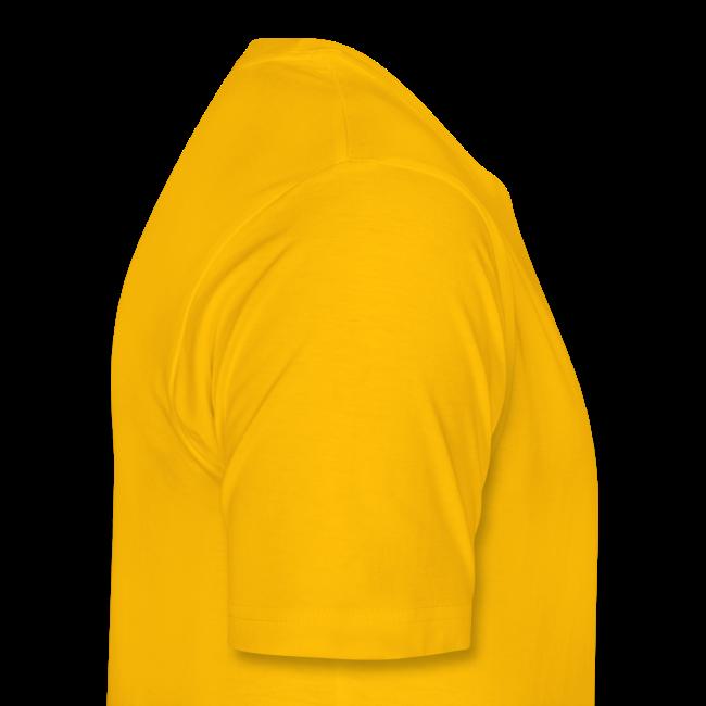 Heren Shirt Casual Geel