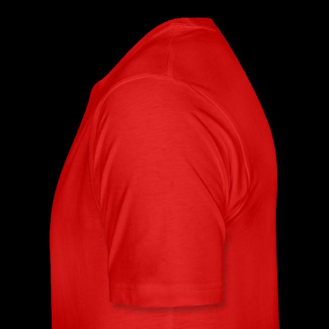 Heren Shirt Casual Rood