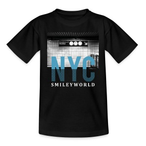 Smileyworld 'NYC 64 Aven Skyline' - Teenage T-shirt