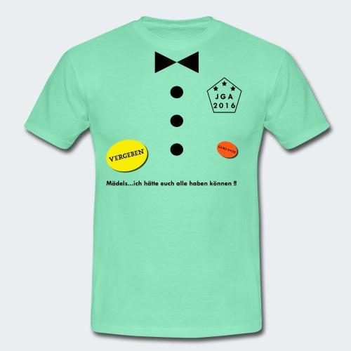JGA Bräutigam - Männer T-Shirt