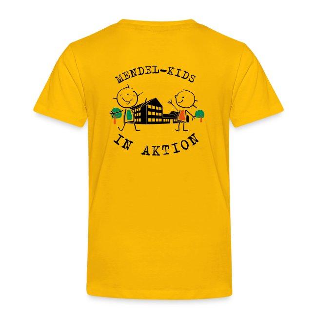 Mendel-Kids in Aktion - Kidsshirt gerade