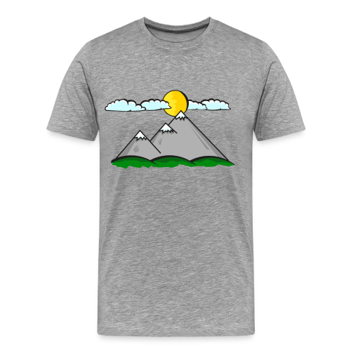 Mountais #2 - Men's Premium T-Shirt