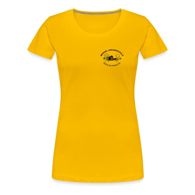 Mendel-Kids in Aktion - Jugendshirt tailliert
