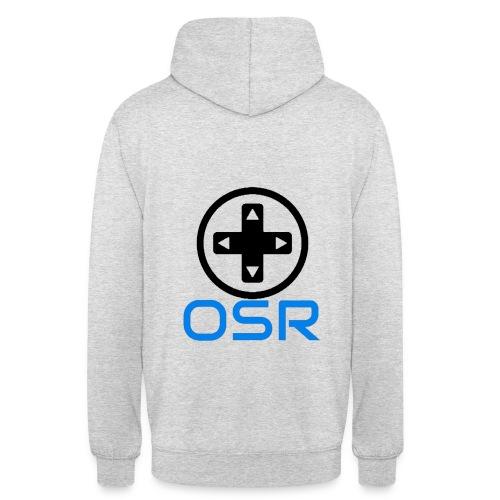 OSR Logo Hoodie Grau - Unisex Hoodie