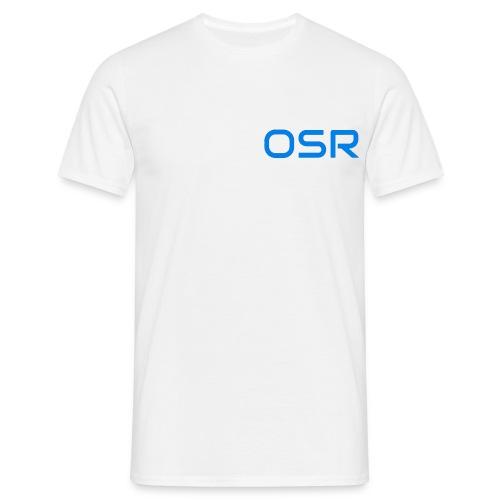 OSR Logo T-Shirt Weiß - Männer T-Shirt