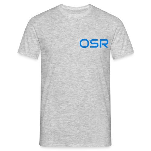 OSR Logo T-Shirt Grau - Männer T-Shirt