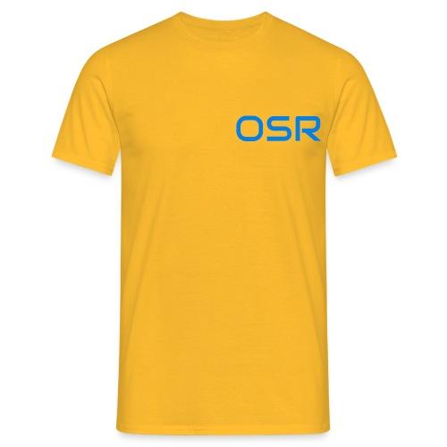 OSR Logo T-Shirt Gelb - Männer T-Shirt