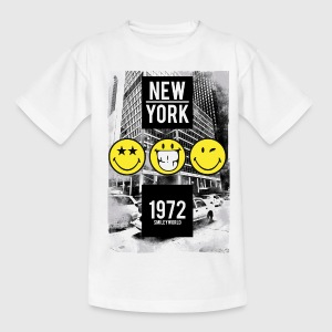 Smileyworld 'New York 1972' - Kids' T-Shirt