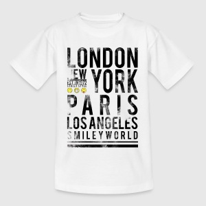 Smileyworld 'Cities' - Teenage T-shirt