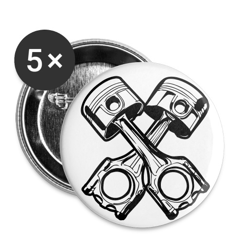 Two Cylinder - Buttons medium 32 mm