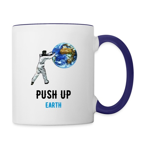 PUSH UP Earth Tasse bicolore - Mug contrasté