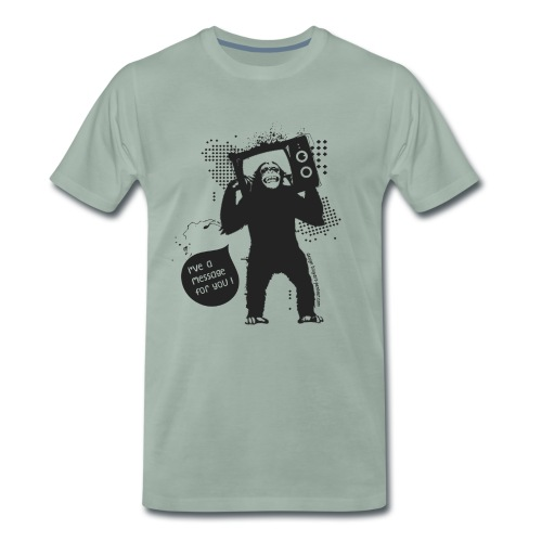 Monkey - Man - T-shirt Premium Homme